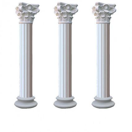 Мраморные колонны в Комсомольск-на-Амурее